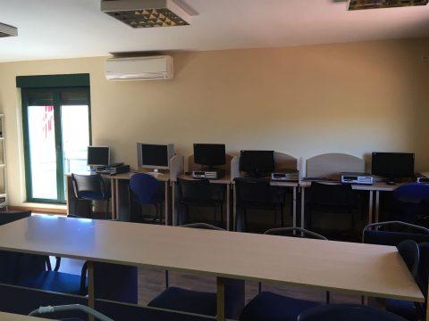 Casa de la Juventud-Sala de formación