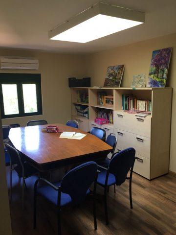 Casa de la Juventud-Sala de trabajo en equipo