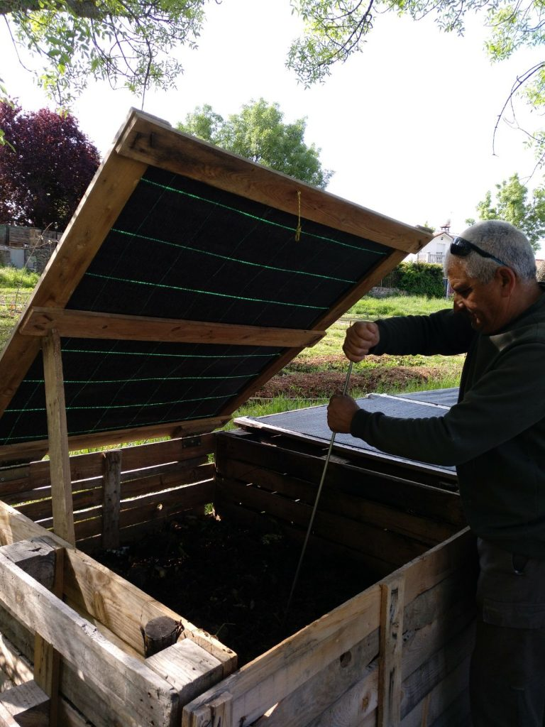 compostadora comunitaria en soto del real